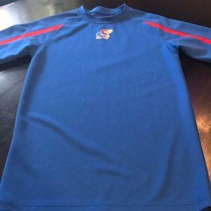 Like New Men's Small Kansas University Shirt 👕🏀
